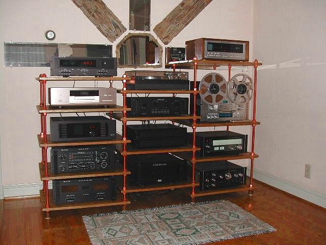 Custom Diy Audio Video Stereo Rack