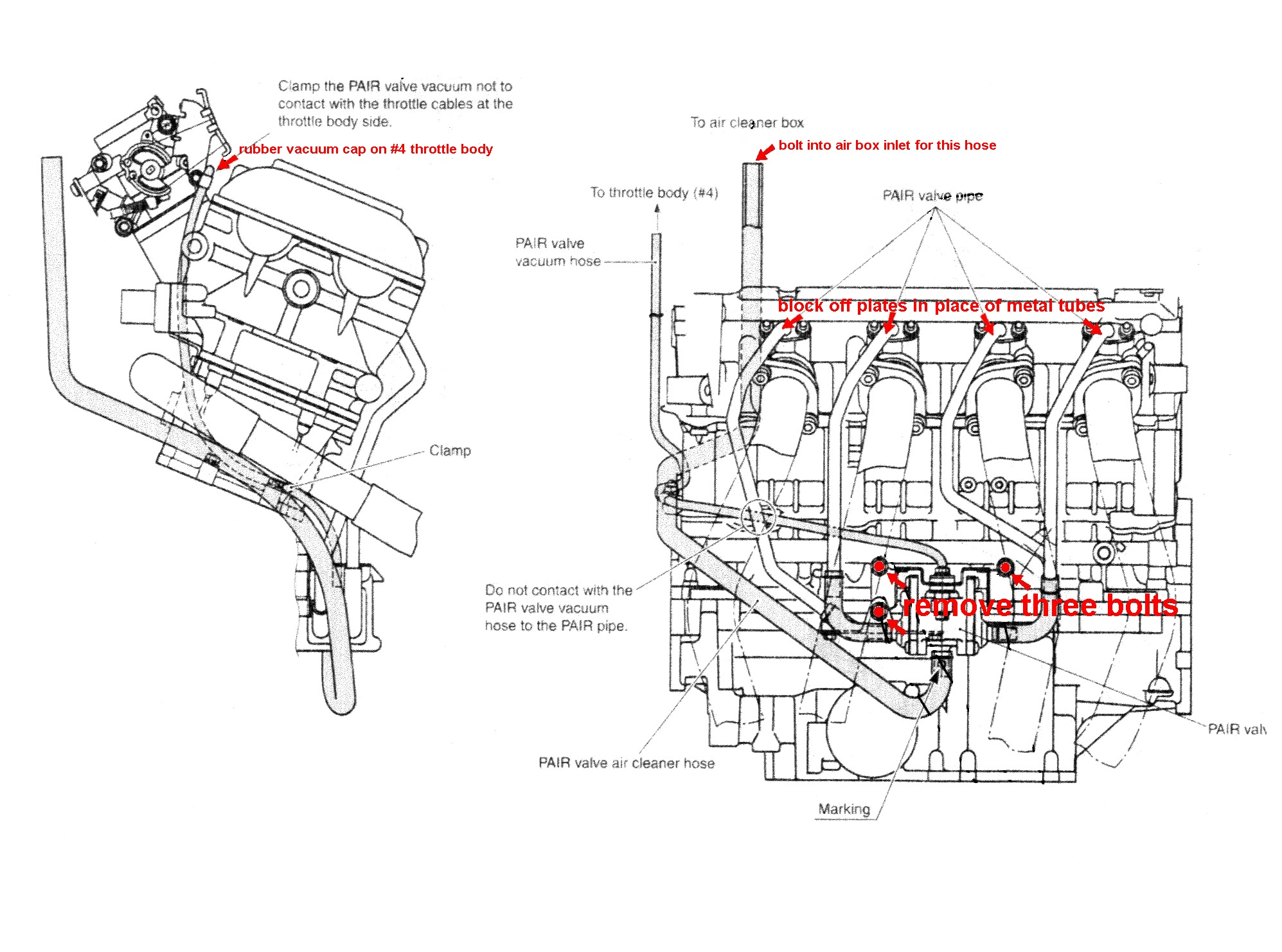 2000 Suzuki Hayabusa Modifications Pair Valve Removal Honda Accord Engine Diagram  Hayabusa Engine Diagram